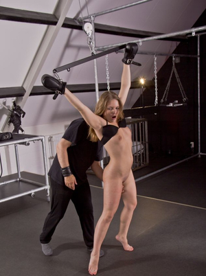 BDSM games turn immature lad on so that soon foreplay turns into fucking